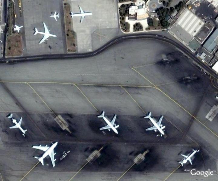 تصویر apron های فرودگاه
