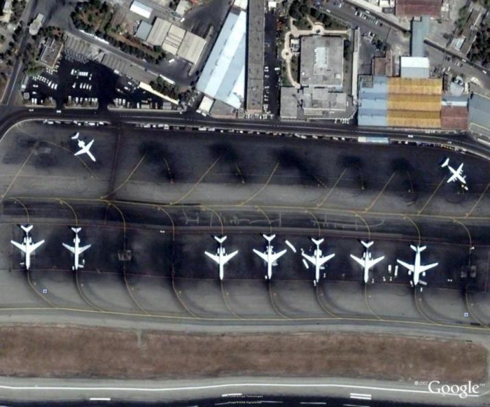 apron های فرودگاه